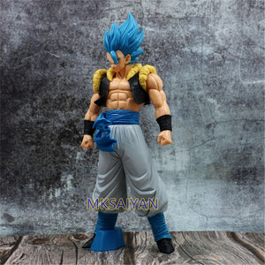 Dragon Ball Z Blue Gogeta Goku PVC Anime Model Action Figurine posed
