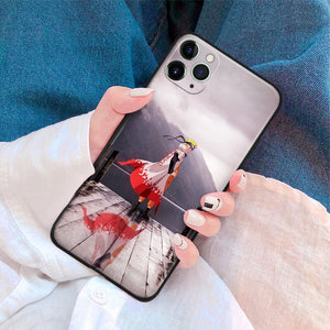 Naruto Landscape Anime Soft Silicone Phone Case for assorted IPhones
