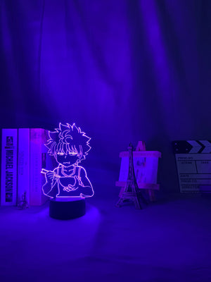 purple Hunter X Hunter Killua 3D Led Lamp