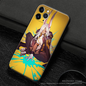 Rumi Usagiyama My Hero Academia Anime Soft Silicone Phone Case for assorted IPhones
