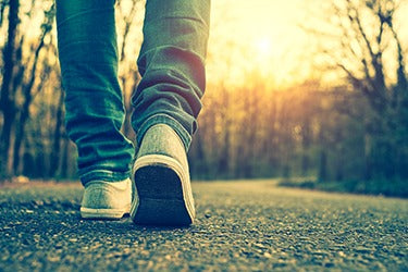 Walking 30 minutes for health