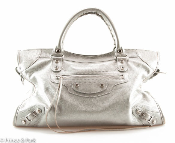 Classic Metallic City Bag