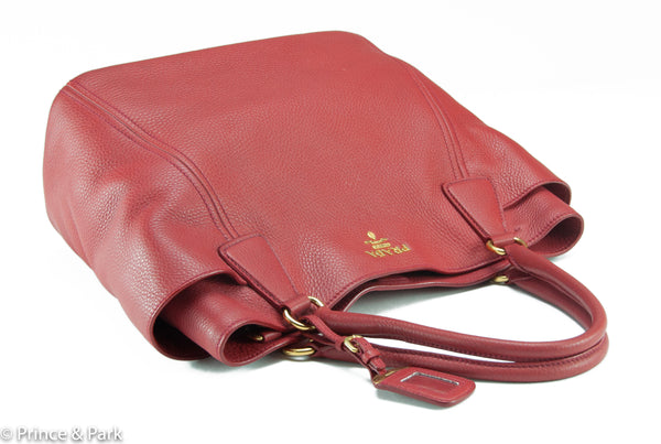 Vitello Daino Side Pocket Hobo
