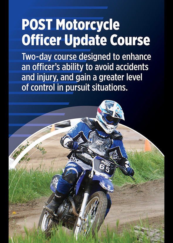 P.O.S.T. Motorcycle Officer Update Course