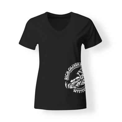 Rich Oliver's Mystery School Women's T-shirt with Circle logo