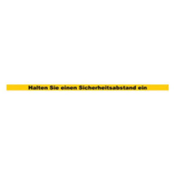 Sicherheitsabstand Kleber Gelb (5 Stk.) - Huber AG Exhibition Management Messebau Online Shop