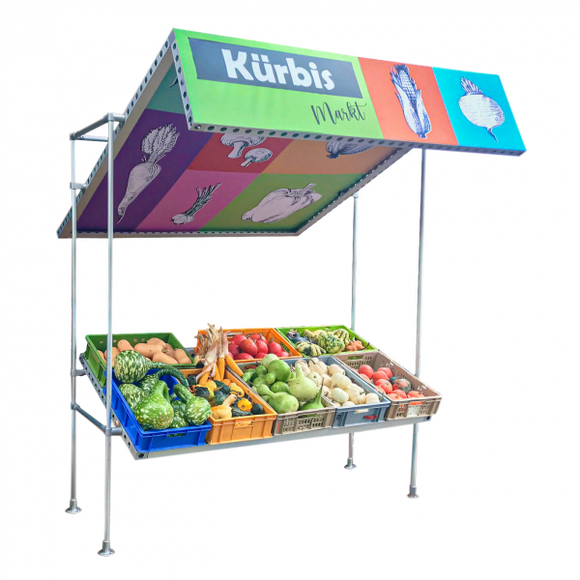 Matrix Marktstand - Huber AG Exhibition Management Messebau Online Shop