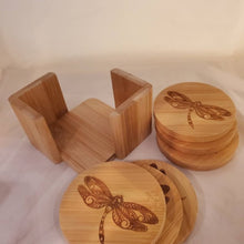 Load image into Gallery viewer, Bamboo Coasters