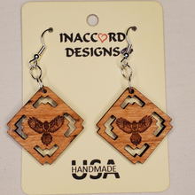 Load image into Gallery viewer, Earrings | Thunderbird with Design