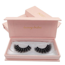 Load image into Gallery viewer, SHIDISHANGPIN Gorgeous 3D Mink Lashes Dramatic Eyelashes Volume Eyelash Extensions Mink Eyelashes Natrual False Eyelashes kits