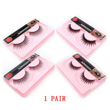 Load image into Gallery viewer, New Fluffy 3D Eyelashes Mink Lashes Makeup Full Strip Lashes Cruelty Free Lashes Luxury Mink Eyelashes maquiagem cilio faux cils