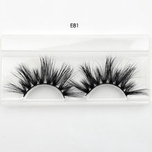 Load image into Gallery viewer, Visofree 25mm lashes 3D mink eyelashes cruelty free 25mm mink lashes handmade crisscross dramatic eyelashes faux cil makeup lash