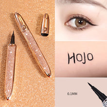 Load image into Gallery viewer, HOJO NEW Diamond Shinny Waterproof Liquid Eyeliner Quick-drying Makeup Tools Long Lasting Eyeliner Pen Black Beauty Cosmetics