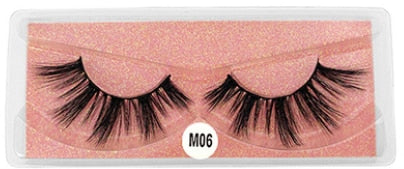 New Makeup Eyelashes 3D Mink Lashes Fluffy Soft Wispy Volume Natural long Cross False Eyelashes Eye Lashes Reusable Eyelash