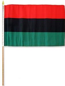 African American Stick Flags
