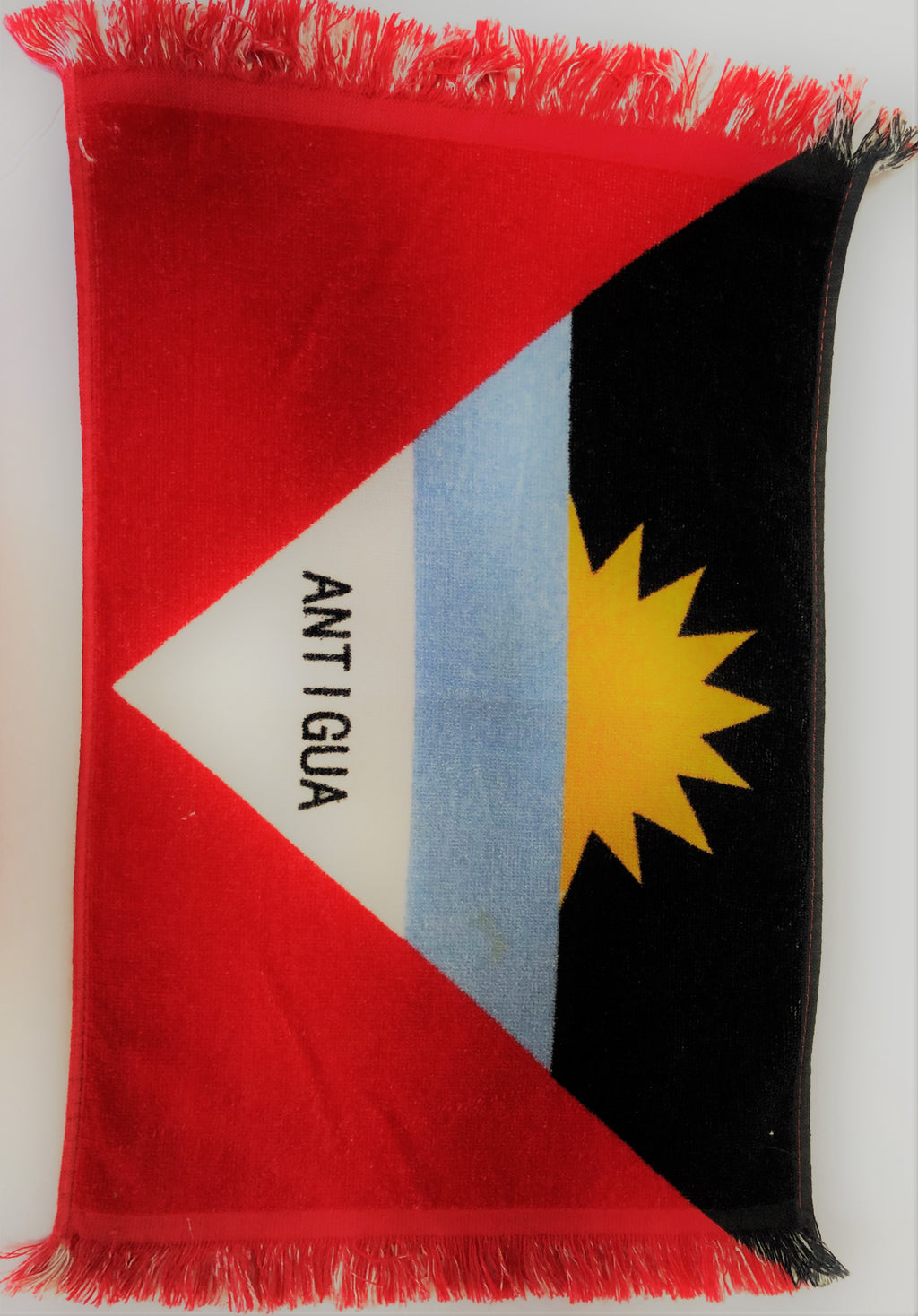 Antigua Flag Hand Towel