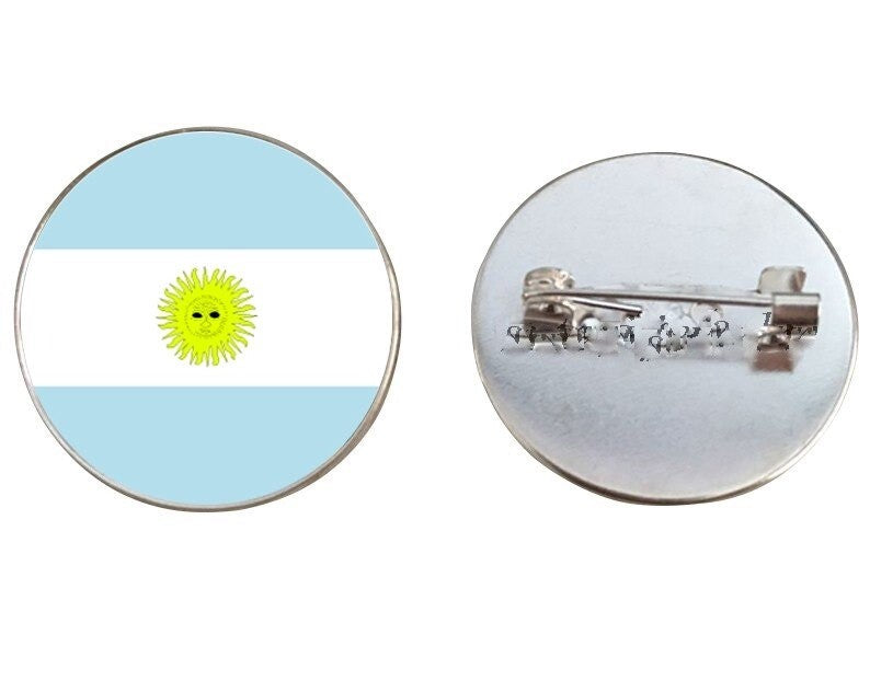Argentina Flags Brooch Pins
