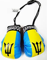 Barbados Flag Mini Boxing Gloves