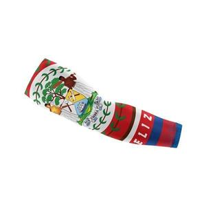 Belize Flag Hand Sleeves