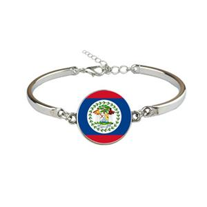 Belize Flag Bracelets