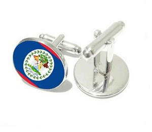 Belize Flag Cufflinks