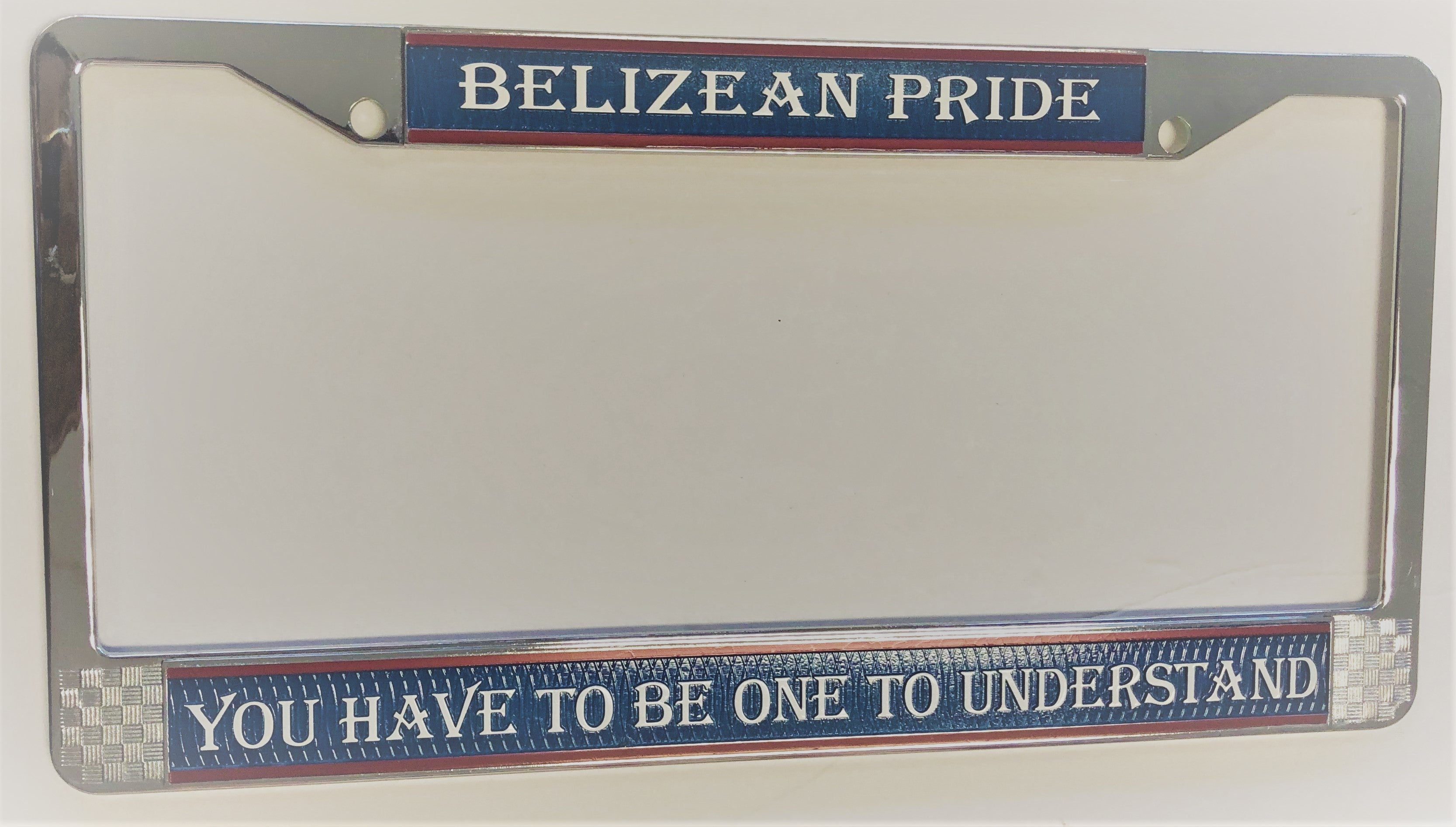 Belize License Plate