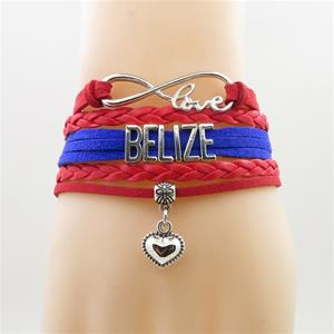 Belize Heart Bracelets