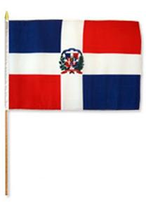 Dominican Rep. Stick Flags