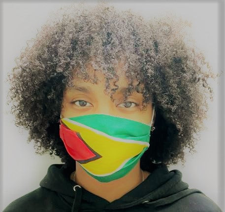 Guyana Flag Masks