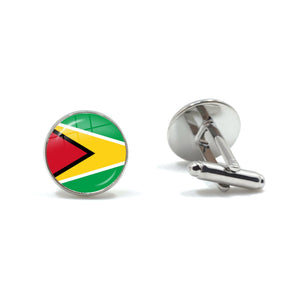 Guyana Flag Cufflinks