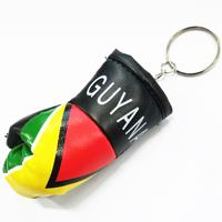 Guyana Flag Glove Keyrings