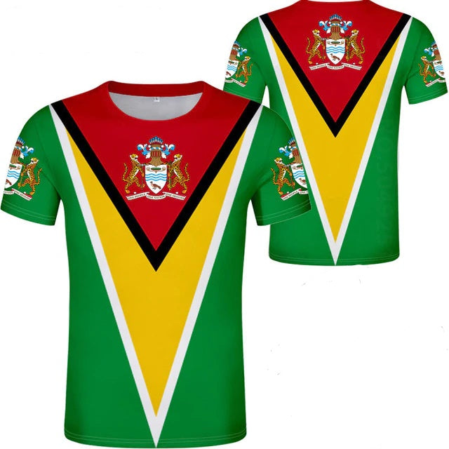 Guyana Flag T-Shirts