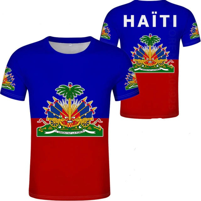 Haiti Flag T-Shirts