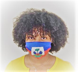 Haiti Flag Masks