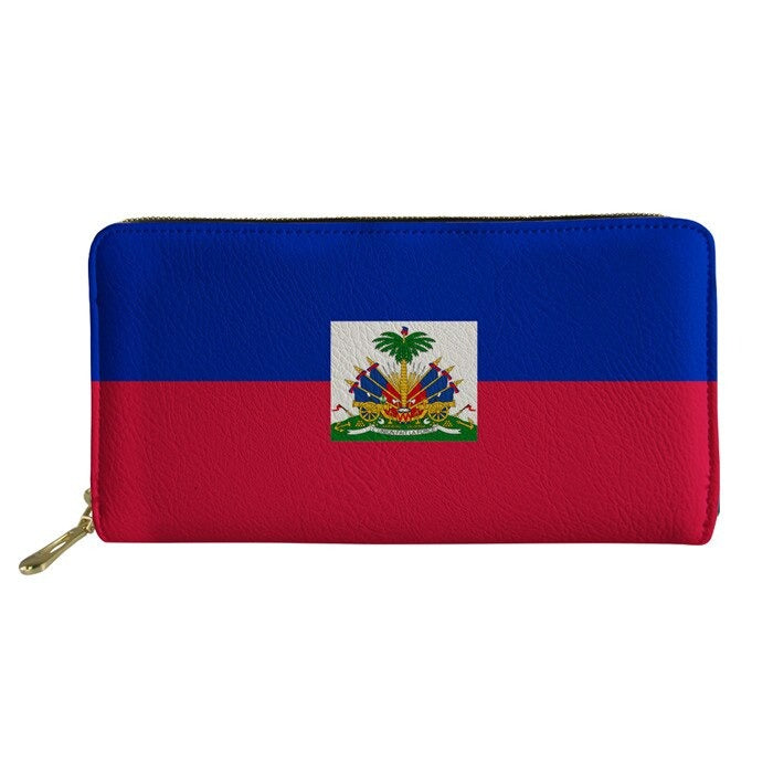 Haiti Flag Wallets
