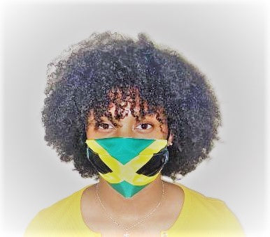 Jamaica Flag Masks
