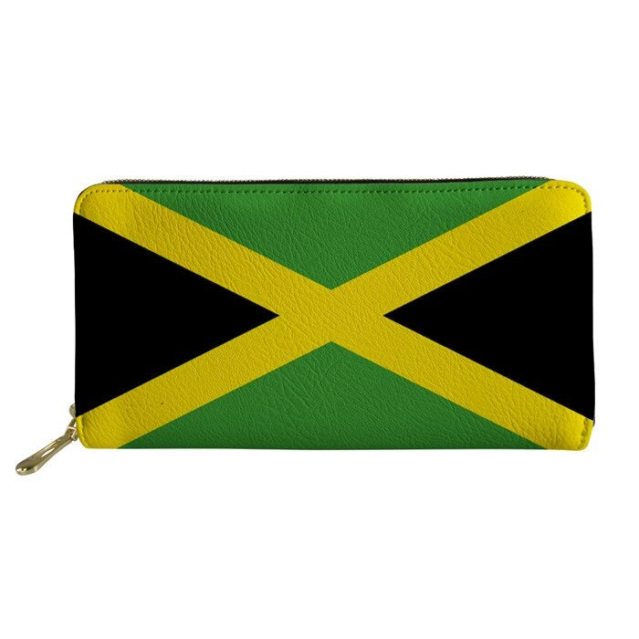 Jamaica Flag Wallets
