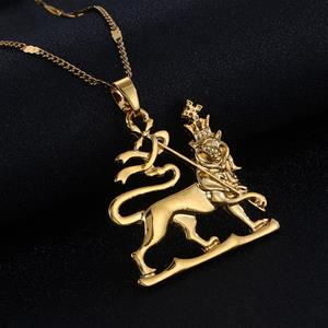 Lion of Judah Gold Necklaces