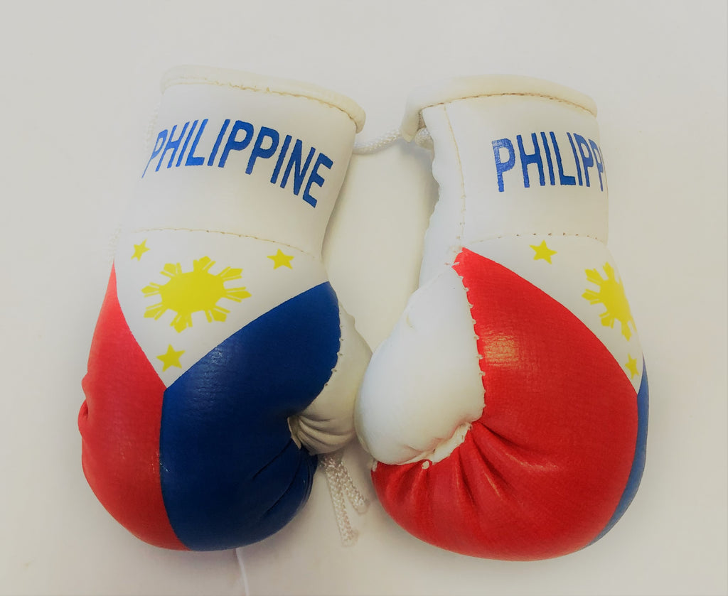 Philippines Flag Mini Boxing Gloves