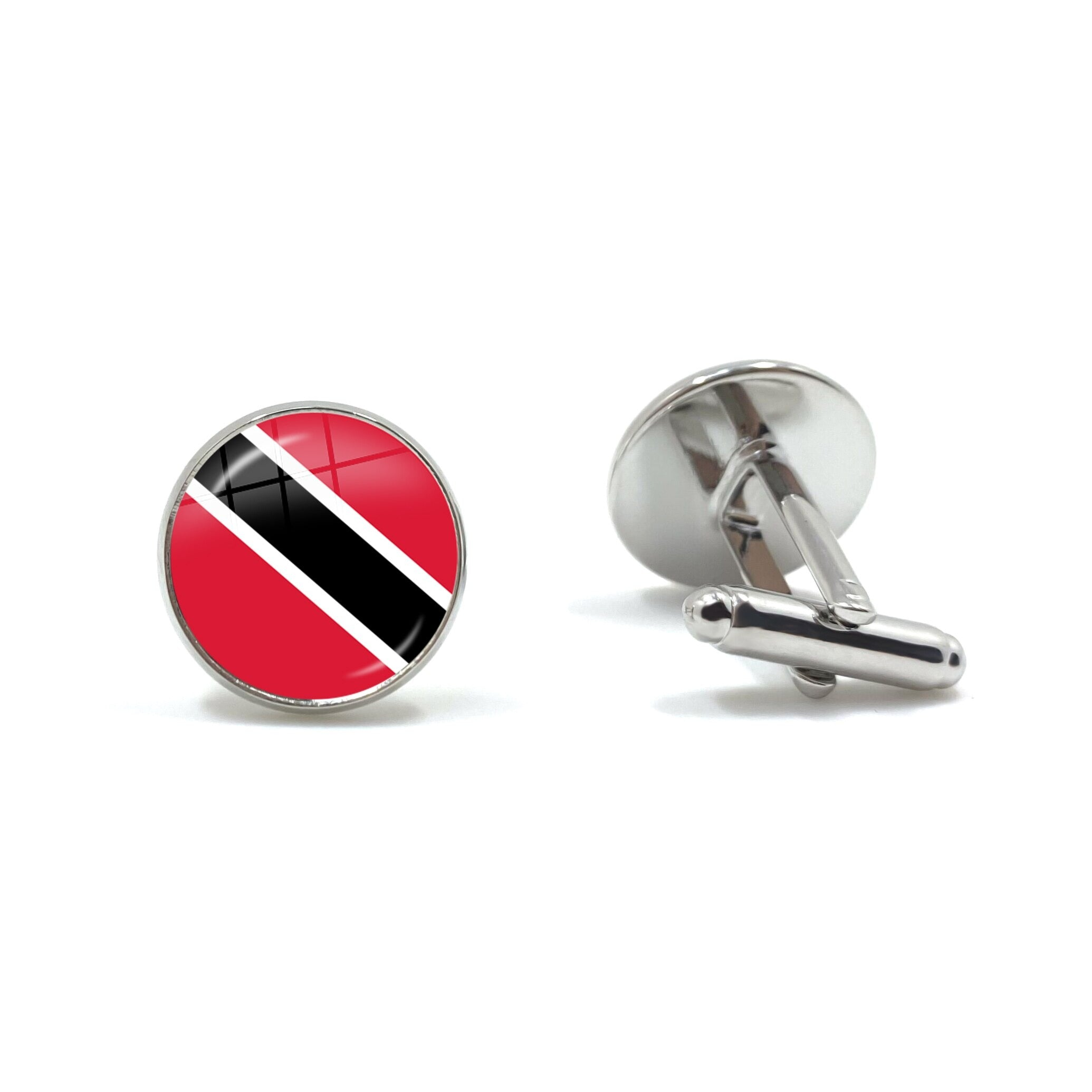 Trinidad Flag Cufflinks