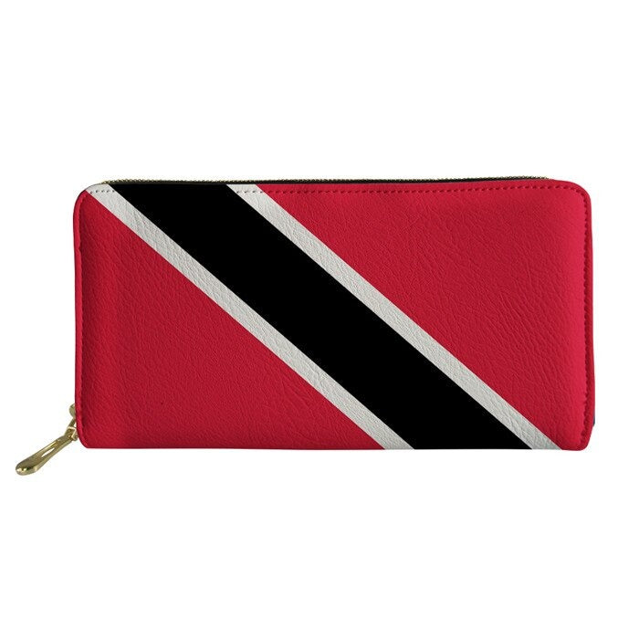 Trinidad Flag Wallets