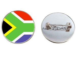 South Africa Flag Brooch Pins
