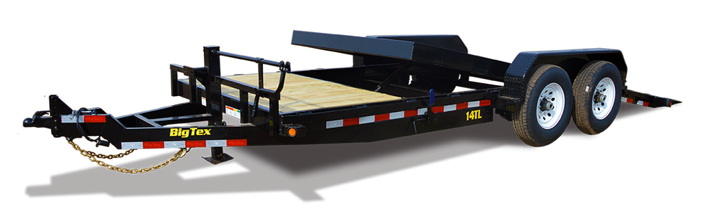 14TL Heavy Duty Tilt Bed Equipment Trailer, Big Tex