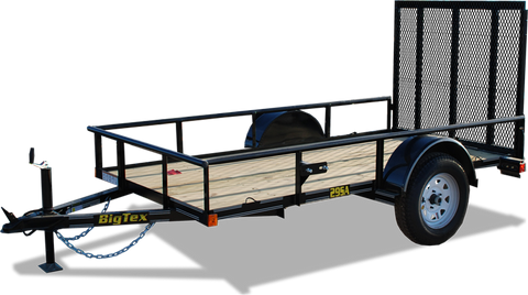 29SA Economy Single Axle Utility Trailer, Big Tex