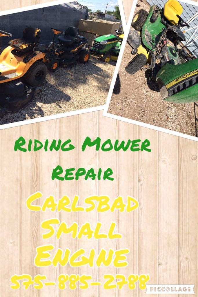 Riding Mower Repair