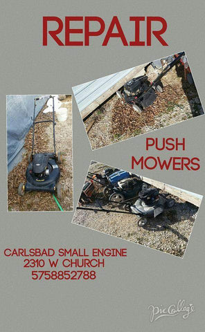 Riding Mower Repair @ Carlsbad Small Engine