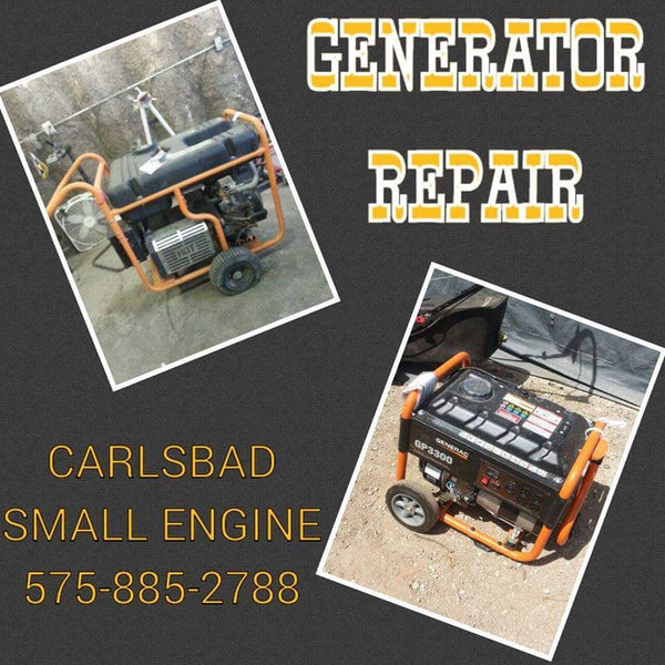 Small Generator Repair @ Carlsbad Small Engine