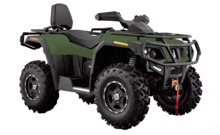 Tactic 750 2-Up ATV With Winch, Hisun