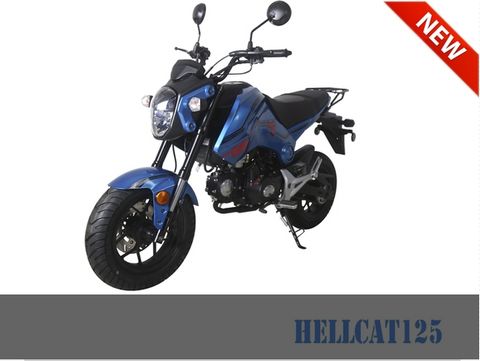 HELLCAT 125, Motorcycle, Tao Motors