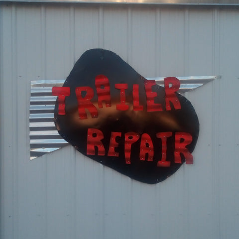 Trailer Repair including lights and decking